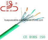 câble d'ordinateur de câble du câble UTP de transmission de réseau de 600MHz STP Cat7 4X2X23AWG/Cable