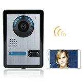 Sonnette visuelle Ringbell de WiFi avec des systèmes de sécurité de maison de moniteur de HD720p