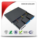 1.2mm Simplex / Duplex 1u MPO Patch Panel pour Sc, LC MPO Cassette