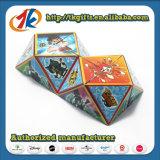 Gioco magico di plastica del cubo di puzzle 3D del puzzle 3D per i capretti