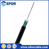 Câble fibre optique blindé de transmission de mode unitaire de bande en acier d'Unitube