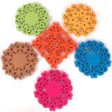 Esferas Handmade Trivets de feltro de Placemat das esteiras de tabela