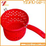 Ketchenware facile pulire il cestino di scolo del silicone con imbuto (YB-HR-23)