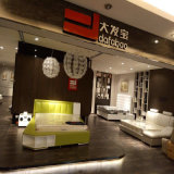Base de cuero de Tatami del estilo moderno para los muebles Fb3071 de la sala de estar