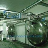 Equipamento congelando-se e de secagem do vácuo industrial do alimento do uso/secador