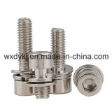 Hexagon Socket Cap Screw und Spring Washer Assemblies Factory From China BS 4168-1