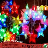 Weihnachtsmann-Stern-WeihnachtsPendent kupferne Zeichenkette-Licht-Hochzeit Decotation