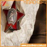 Insignia del logotipo de la aduana 3D con el regalo del recuerdo de la insignia del botón (YB-HD-126)