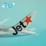 Vorbildliche Flugzeug-Passagierflugzeug-Modell Boeing-B787-8 28cm Jetstar