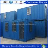 Casa pré-fabricada do recipiente do aço 20FT do projeto moderno e casa modular da casa móvel