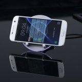 이동 전화를 원형 디자인 LED 무선 충전기 빠른 청구
