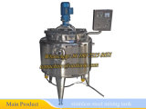 Edelstahl-Reaktions-Becken-chemischer Reaktor erhitzt durch elektrisches (Edelstahlreaktor)