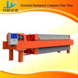 Máquina da imprensa de filtro da câmara do aço inoxidável com operação manual