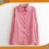 La camicetta delle donne dell'OEM supera le camice della camicetta del cotone delle camice di modo