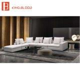 Familly部屋の家具のためのヨーロッパデザインファブリック部門別のソファ