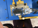 Hydraulikanlage-Blatt-in der metallschneidenden Schermaschine der Aktien-QC12k E21s