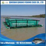 Afrika-populärer HDPE Fisch-Rahmen für den Wels, der Gebrauch bewirtschaftet