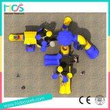 De multifunctionele Fantasierijke OpenluchtApparatuur van de Speelplaats (HS08401)