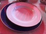 Potage d'émail plaqué/plaque de riz