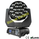 Indicatore luminoso capo mobile del LED 19X15W con lo zoom/fuoco RGBW 4 in-1
