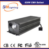 Hydroponic를 위한 120-277V 630W De CMH Ballast는 전등 설비 장비를 증가한다