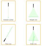 Danpon Roja y módulo de láser verde en el Bien y calidad estable Usando asférica Colimador lente de cristal