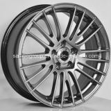 F9932 bordas Hyper da roda da liga do carro do preto 5X120 para BMW