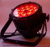 18 * 15 RGBWA UV 6 en 1 LED étanche PAR Stage Lighting