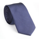 100% cravate tissée en toile de soie en tissu tissé (NT-021)