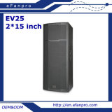 2*15 de PRO Audio Professionele Luidspreker van de duim (EV25 - TACT)