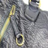 세척된 PU 연약한 핸드백 여자 형식 어깨 핸드백
