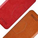 Rojo toda la cubierta de cuero de la caja de la PU del encierro magnético con el sostenedor de la ranura para tarjeta para el iPhone 8 de Apple