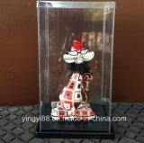 Fábrica de acrílico de Shenzhen de la caja de presentación de la muñeca de la calidad estupenda