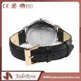 Montre de bracelet de cuir du quartz des femmes de mode