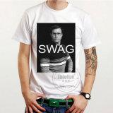 Lycra Baumwollgewebe-kundenspezifisches Sport-T-Shirt mit Drucken