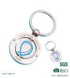Fabriqué en usine Métal doux élastique Keychain Promotion Cadeaux