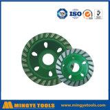 가는 돌/대리석을%s 녹색 다이아몬드 컵 바퀴