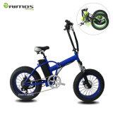 20 '' سبيكة إطار العجلة رخيصة سمين درّاجة كهربائيّة مع نوعية جيّدة