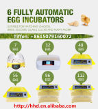 Incubadora automática aprovada do ovo da galinha do Ce de Hhd para a venda (YZITE-8)