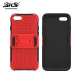 Caixa combinado do telefone de pilha da alta qualidade de Shs para o iPhone 7/7 positivos