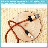 Câble usb en cuir de remplissage rapide neuf pour iPhone5 5s 6 6s 7
