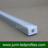 LED-Strangpresßling-Schwarz-weißer silberner Farbanstrich