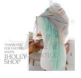 Belle couleur de cartel de plusieurs couleurs bloquant écharpe de femmes de l'hiver d'impression de type la longue