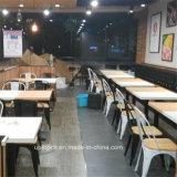 Mobiliário de restaurante industrial vintage Tolix cadeira e mesa de madeira (SP-CS293)