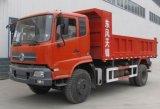 Volquete 4X2 de Dongfeng 12cbm 12 toneladas de carro de descargador para la venta
