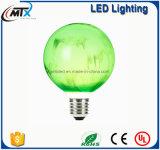 새로운 현대 스테인드 글라스 램프 E27 LED 인공적인 그려진 램프