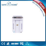 Прекрасно продающийся европейский белый детектор газа 12V штепсельной вилки связанное проволокой сигналом тревоги Sfl-817