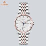 明るく優雅な自動腕時計の防水ステンレス鋼のメンズウォッチ72389