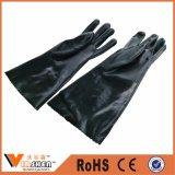 Нитрила безопасности руки перчатки защитного химически промышленные