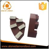 Cassani Maschinen-Metallkonkreter Diamant-reibendes Segment